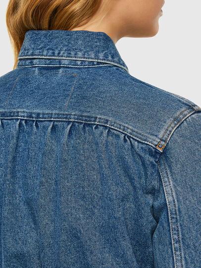 Diesel - DE-NINO, Medium blue - Denim Jackets - Image 5
