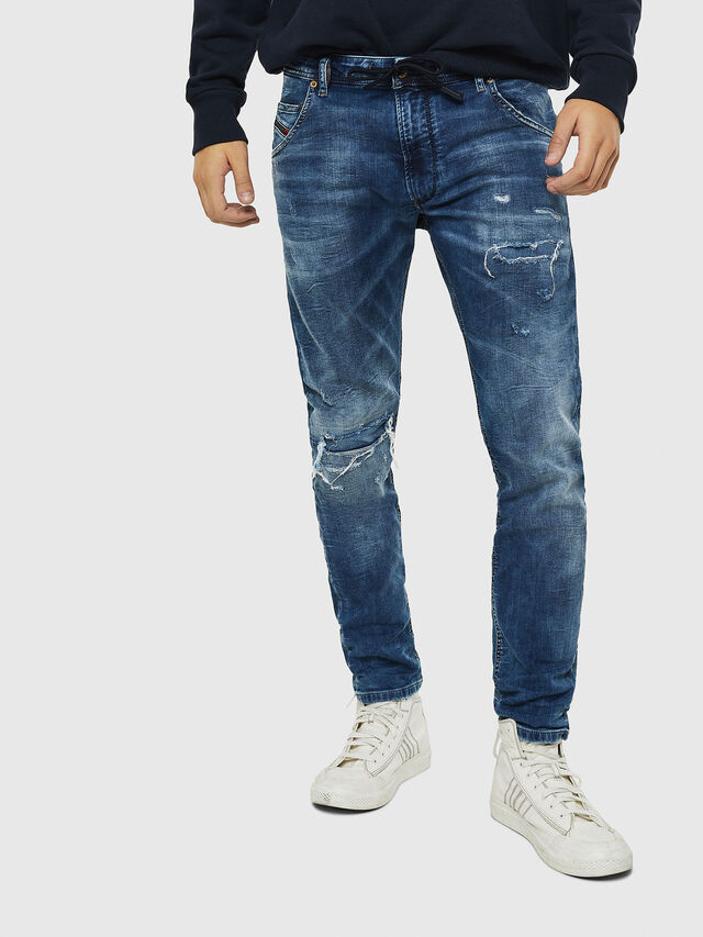 Diesel Krooley JoggJeans 0685I, Medium blue - Jeans - Image 1