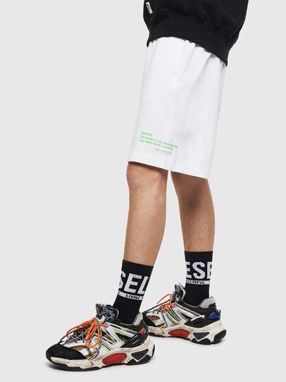 Diesel - P-BOXIER, White - Shorts - Image 4