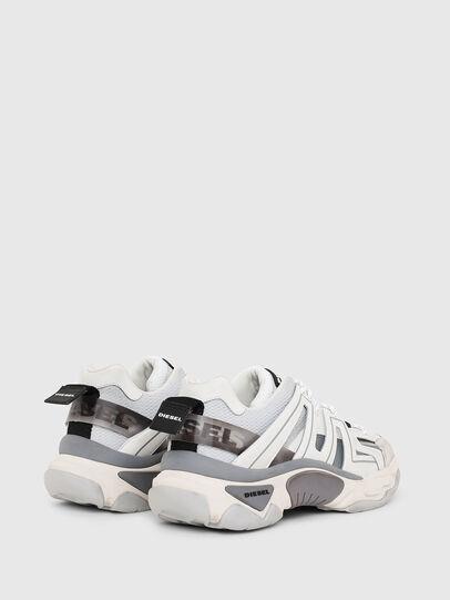 Diesel - S-KIPPER LOW TREK, White/Grey - Sneakers - Image 3