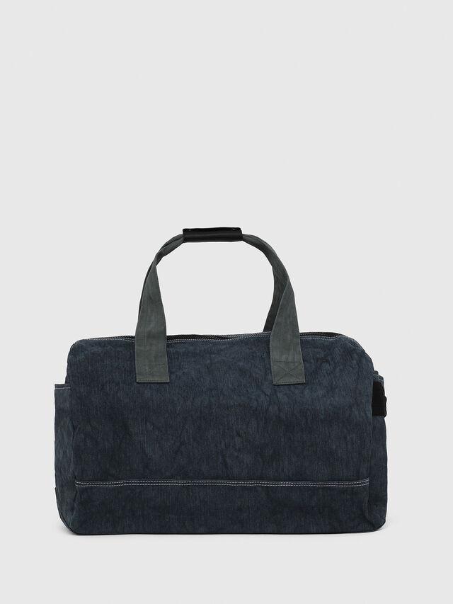 Diesel - D-THISBAG TRAVEL BAG, Blue Jeans - Travel Bags - Image 2