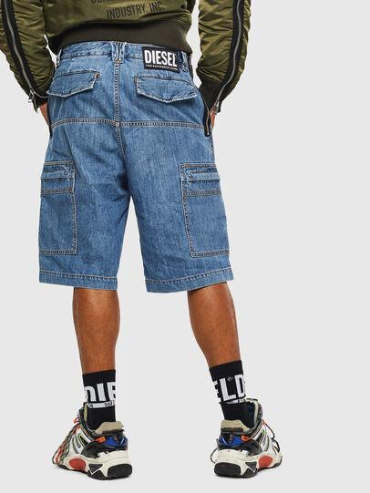 Diesel - D-LUKS-SHORT, Light Blue - Shorts - Image 2