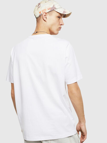 Diesel - T-JUST-POCKET-T17, White - T-Shirts - Image 2