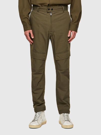 Diesel - P-SIDE, Military Green - Pants - Image 1