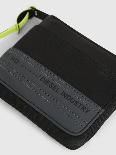 Diesel - ZIPPY HIRESH S, Black/Blue - Zip-Round Wallets - Image 4