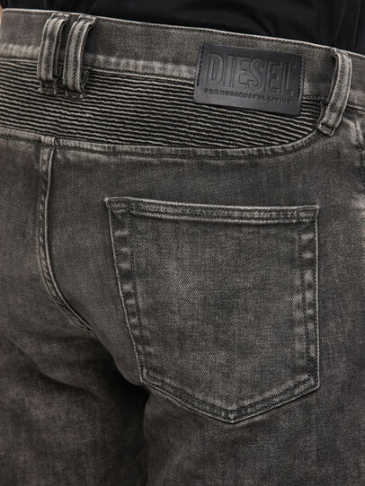 Diesel - D-Dean 009LI, Black/Dark grey - Jeans - Image 4