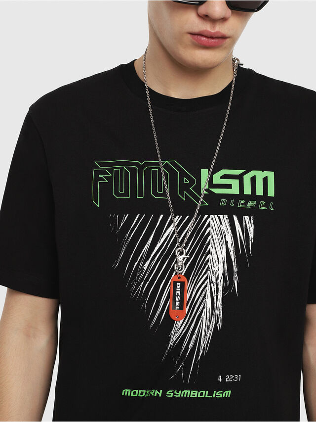 Diesel - T-JUST-Y25, Black - T-Shirts - Image 3