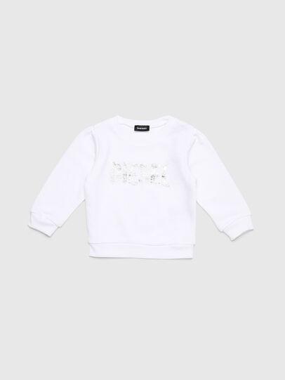Diesel - SRALLYB-R, White - Sweaters - Image 1