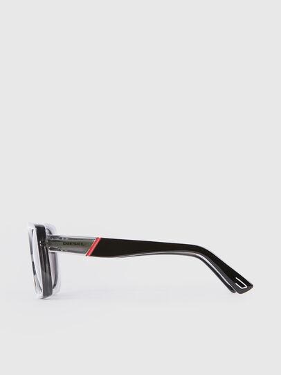 Diesel - DL0292, Gray/Black - Sunglasses - Image 3