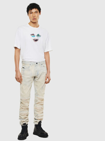 Diesel - TEORIALE-A, White - T-Shirts - Image 5