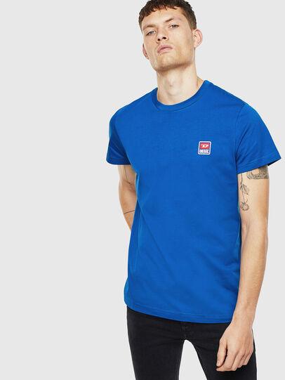 Diesel - T-DIEGO-DIV, Blue - T-Shirts - Image 1