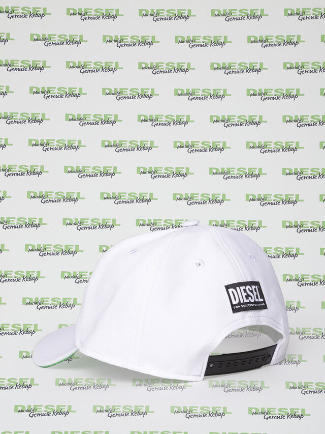 Diesel MU-CELEB, White - Caps, Hats and Gloves - Image 2