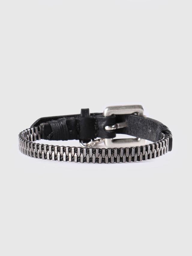 Diesel - A-ZIPPER, Black/Silver - Bijoux and Gadgets - Image 1