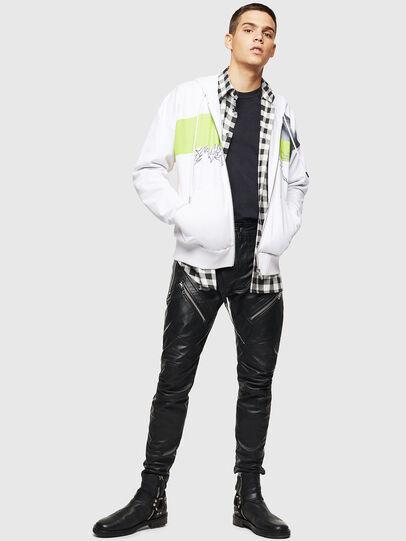 Diesel - S-ALBY-ZIP-B1, White - Sweaters - Image 6