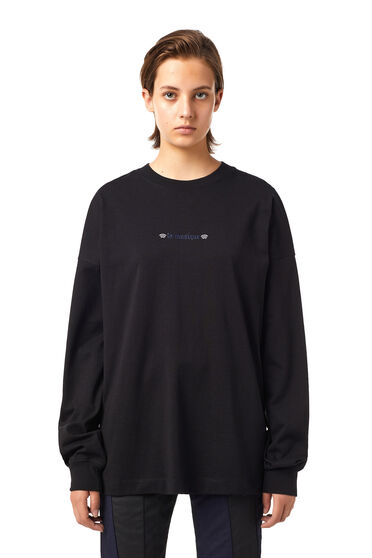 Green Label T-shirt with tarot print