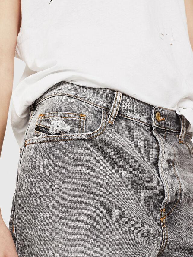 Diesel - D-KORT, Light Grey - Shorts - Image 4