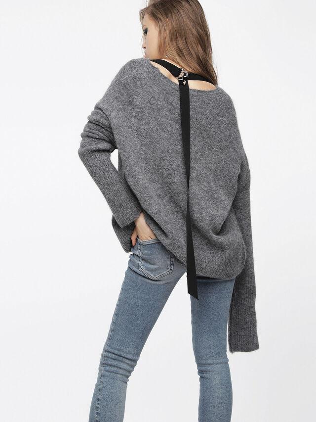 Diesel - M-ALPY, Grey - Knitwear - Image 2