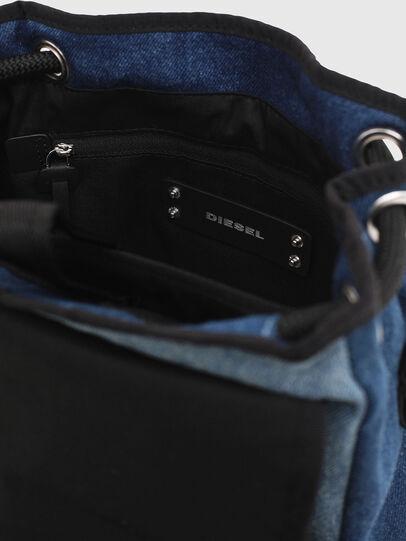 Diesel - DENIPACK, Blue Jeans - Backpacks - Image 6
