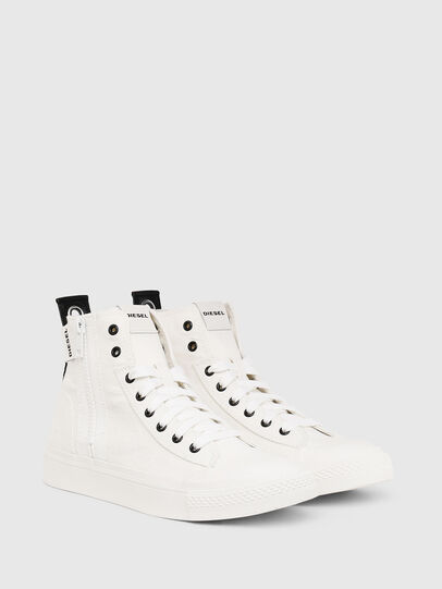 Diesel - S-ASTICO MID ZIP W, White - Sneakers - Image 2