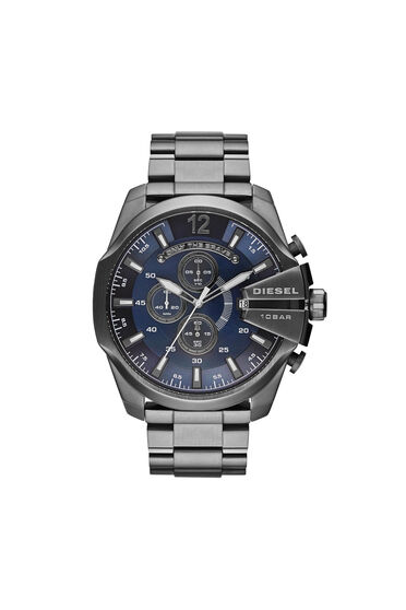 Watch  with gunmetal plating