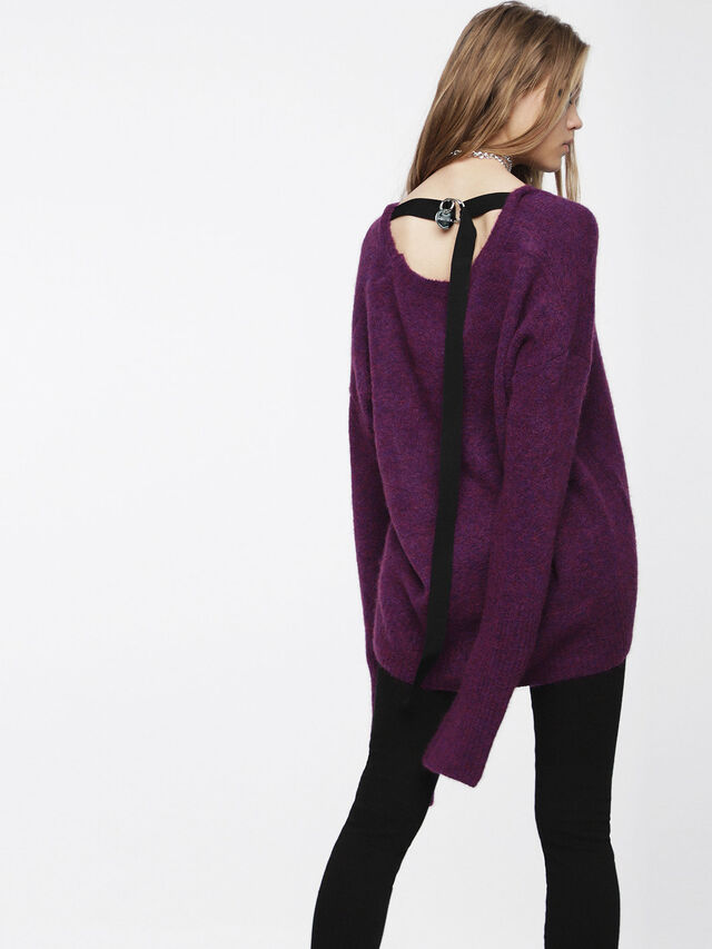 Diesel - M-ALPY, Violet - Knitwear - Image 2