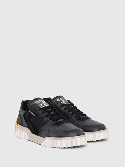 Diesel - S-RUA LOW90, Blue/Black - Sneakers - Image 2