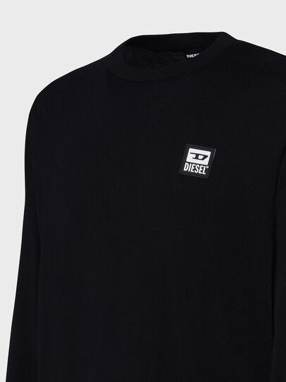 Diesel - K-FREEX-B, Black - Knitwear - Image 3