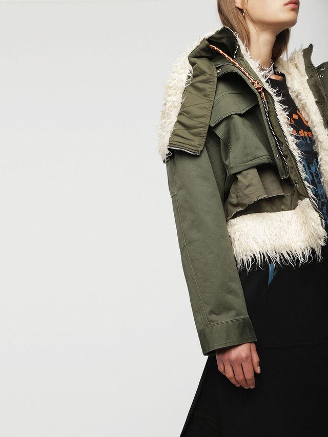 Diesel - W-LOTTI, Military Green - Winter Jackets - Image 6