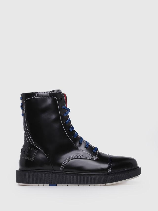 Diesel D-CAGE DBB, Bright Black - Boots - Image 1