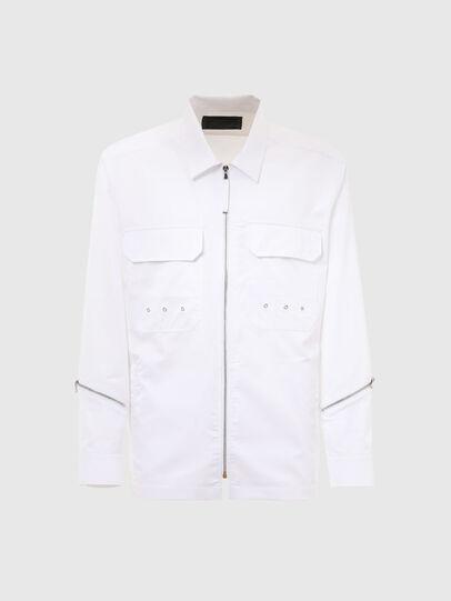 Diesel - S-KULT, White - Shirts - Image 1