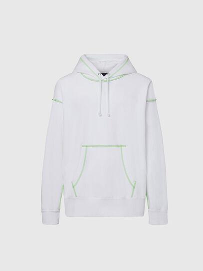 Diesel - S-ALBYSEAM, White - Sweaters - Image 1