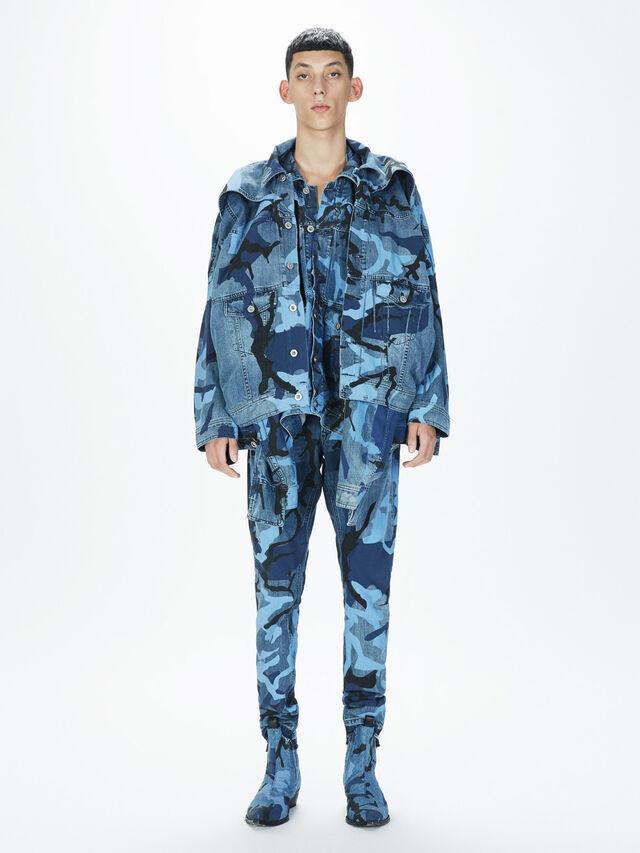 Diesel - SOPKN01, Melange Blue - Jeans - Image 7