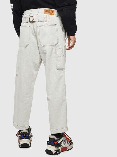 Diesel - D-FRAK, White - Pants - Image 2