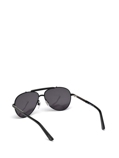 Diesel - DL0238, Black - Sunglasses - Image 2