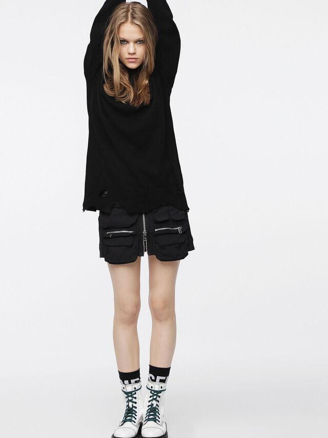Diesel - M-PURE, Black - Knitwear - Image 4