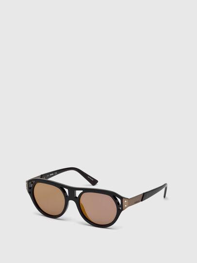 Diesel - DL0233, Black - Sunglasses - Image 4