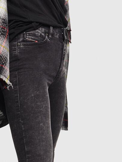 Diesel - D-Roisin 069FW, Black/Dark grey - Jeans - Image 4