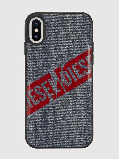 Diesel - VINTAGE DENIM IPHONE X CASE, Blue Jeans - Cases - Image 2