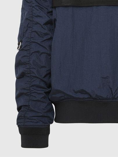 Diesel - J-DUST-KA, Dark Blue - Jackets - Image 4