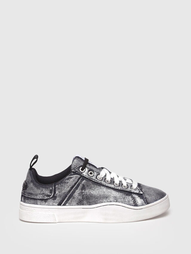 Diesel - S-CLEVER LOW W, Grey Jeans - Sneakers - Image 1