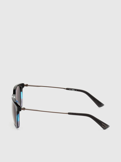 Diesel - DL0309, Black/Blue - Sunglasses - Image 3