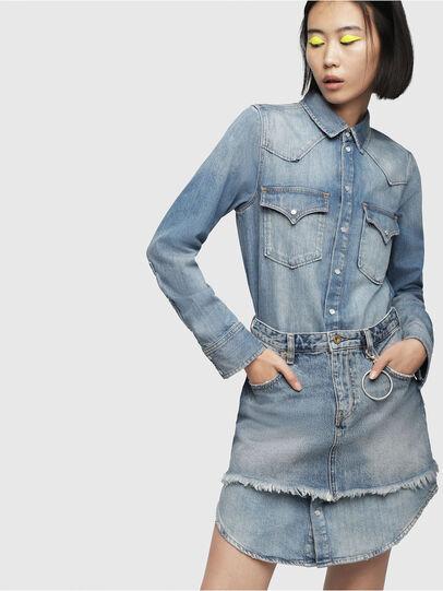 Diesel - DE-DESY-P, Blue Jeans - Dresses - Image 1