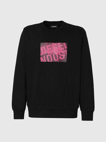 Sweatshirt with Diesel Industry print