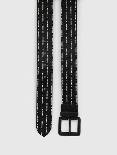 Diesel - B-DOUCKLE, Black - Belts - Image 3