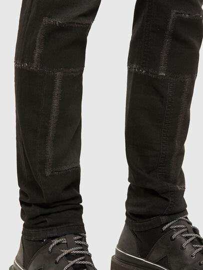 Diesel - Thommer JoggJeans 009IC, Black/Dark grey - Jeans - Image 5