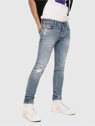 0ee23526 Sleenker 086AT, Light Blue - Jeans. Light Blue