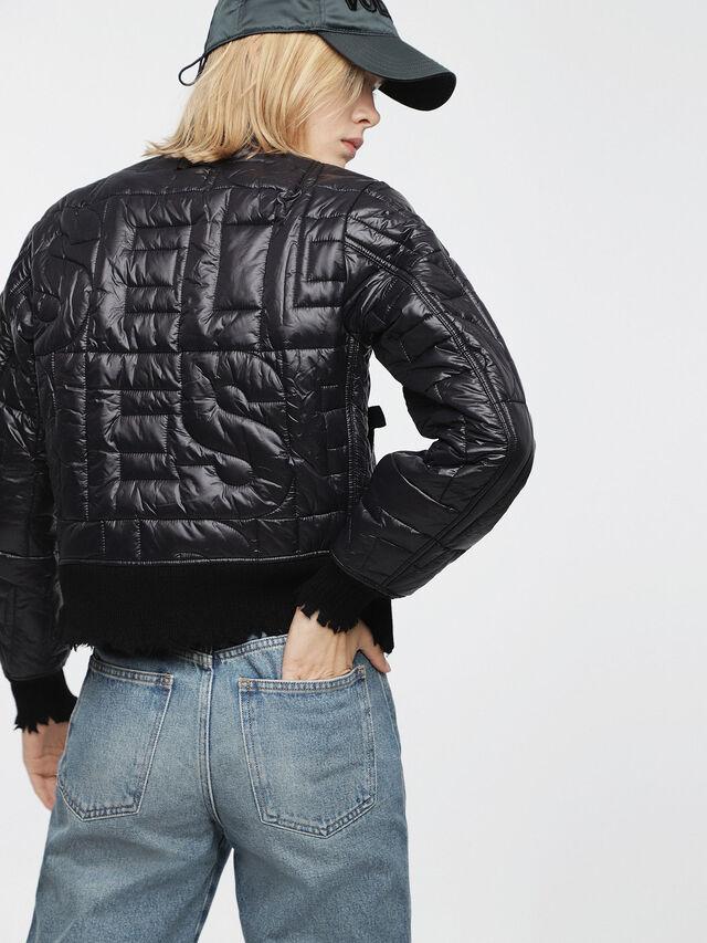 Diesel - W-REINA, Black - Winter Jackets - Image 2