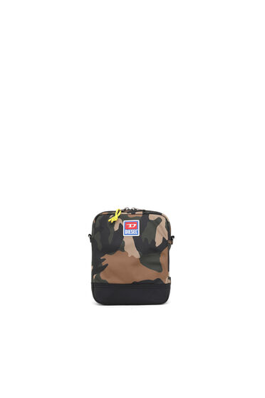 Cross-body in camouflage fabric
