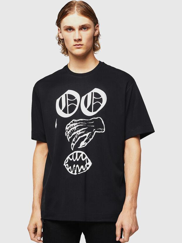 TEORIALE-X2, Black - T-Shirts