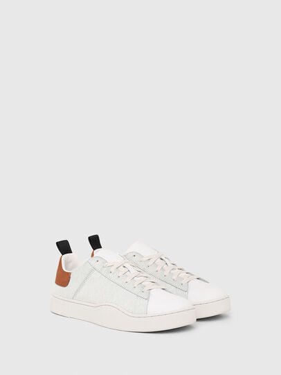 Diesel - S-CLEVER LOW LACE, White/Brown - Sneakers - Image 2